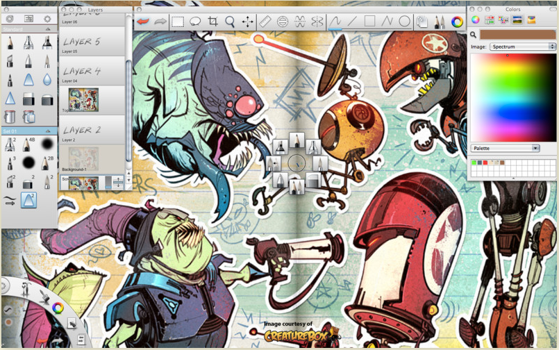 Image Gallery sketchbook pro 2