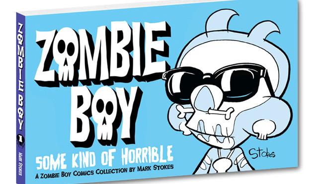 Zombie Boy Book