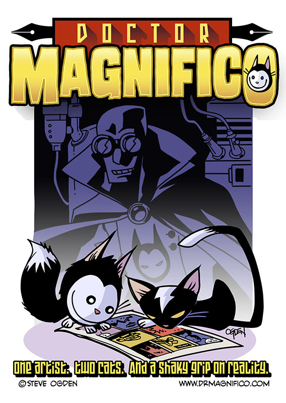 doctor magnifico cover
