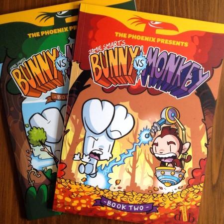 Jamie Smart - Bunny vs monkey