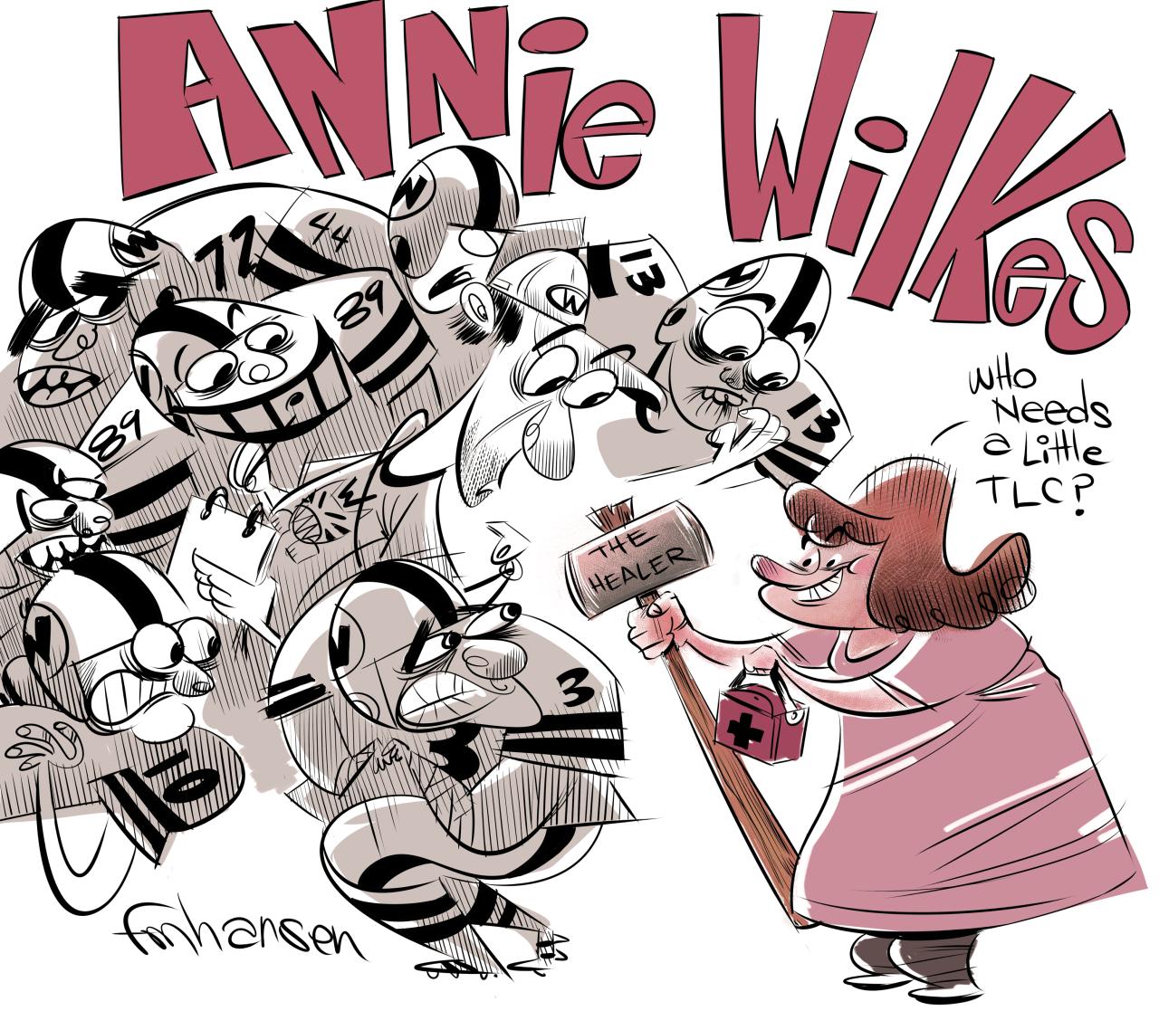 Frank Hansen Annie Wilkes - The Mean 16