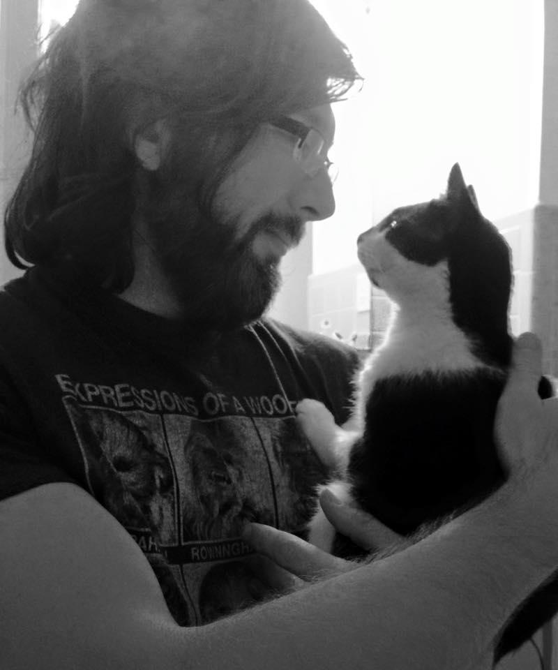 Brian Dunaway and Maxx Cat