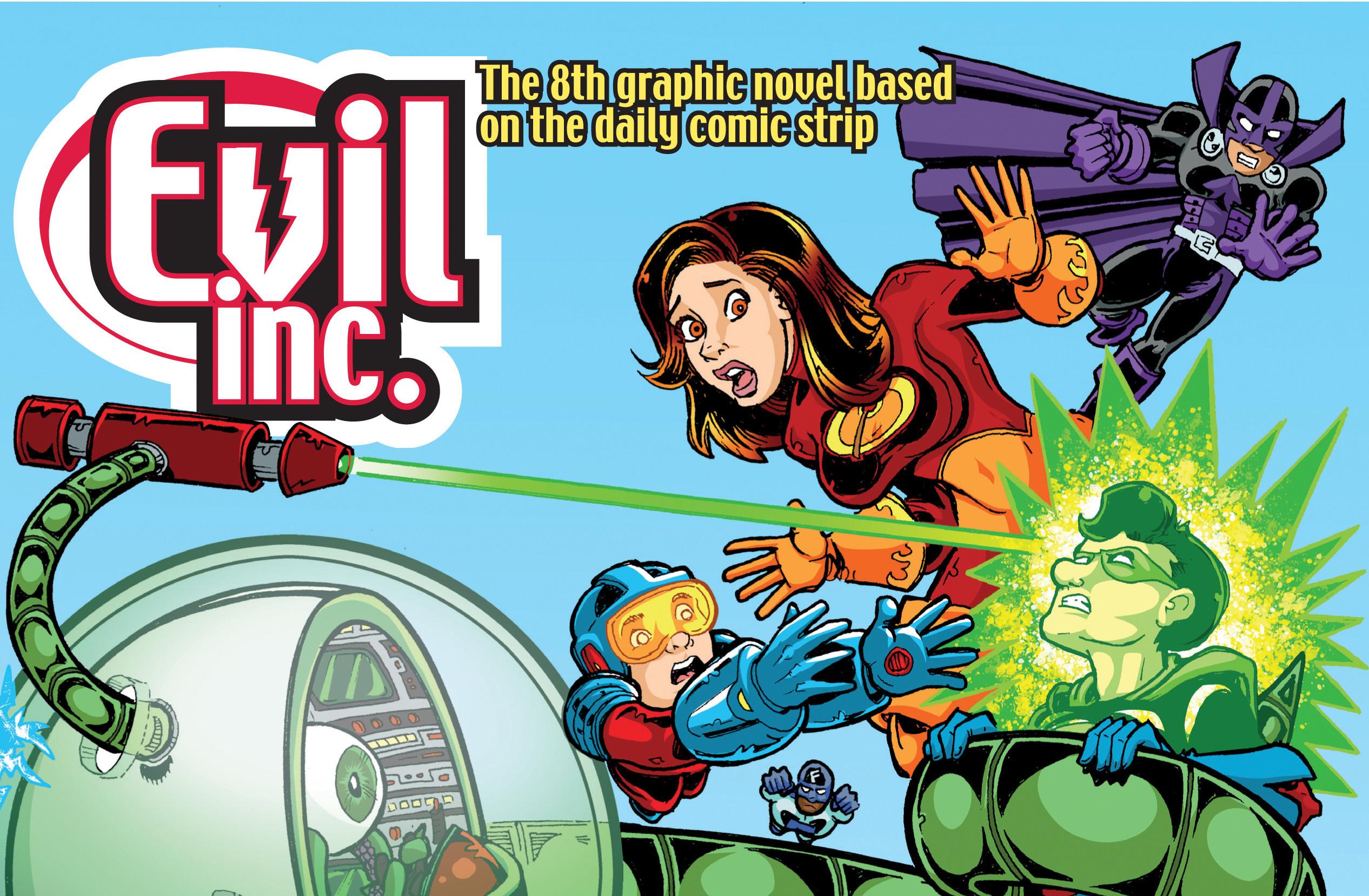 Brad Guigar - Evil Inc - Cover